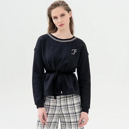 LB Black Jewel Sweater