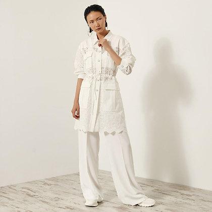 LB Floral Lace Jacket