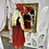 Thumbnail: LB Black/Red Pleat Dress