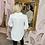 Thumbnail: LB Ivory Floral Embellished Blouse