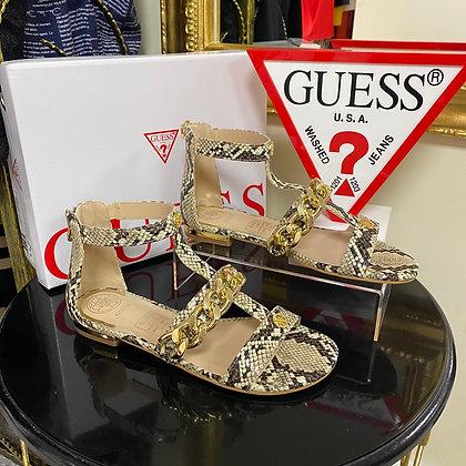 GUESS Python chain sandal