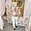 Thumbnail: PASSIONI Orange Print Twinset