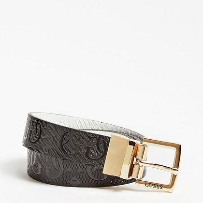 Guess Black/White Reversible  Belt