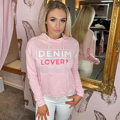 LB Pink Denim Lover Sweatshirt