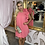 Thumbnail: LB Coral Pleat Dress