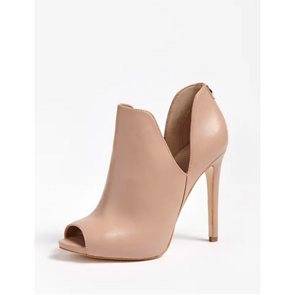 GUESS Aubry Beige Real Leather Ankle Boot