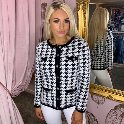 PASSIONI Dogtooth Button Jacket