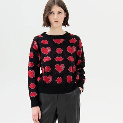 LB Heart Knit Jumper
