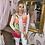 Thumbnail: LEO Pink Multi Print Twinset