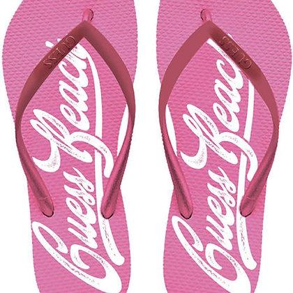 Guess Pink Flip Flops