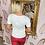 Thumbnail: LEO White, NY Embellished T.Shirt