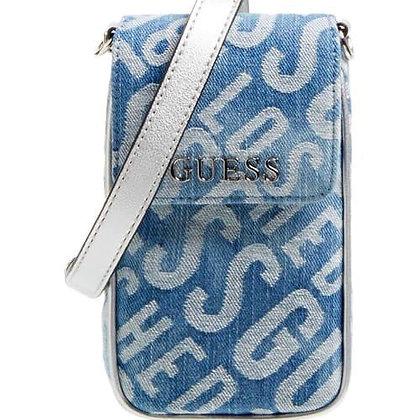 Guess Denim Phone Bag