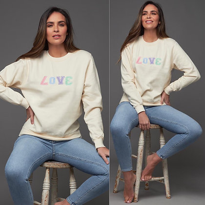 LB Vanilla LOVE Sweater