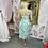 Thumbnail: LB Green Print Frill Dress