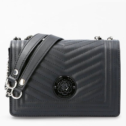 Guess Black Quilted Crossbody Bag