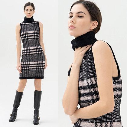 LB Check Knit Dress