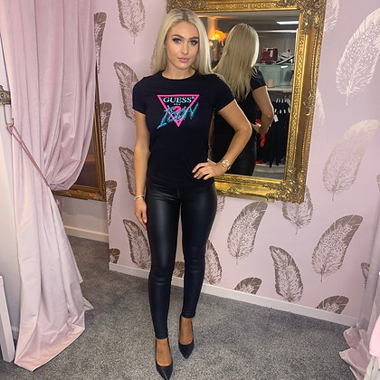GUESS Black ICON Tee