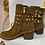 Thumbnail: Guess Tan Suede Stud Boot