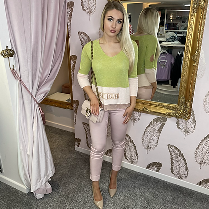 EC Pink Jean/Trousers