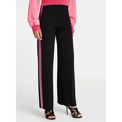 Guess Black With Pink Sideband Pant