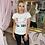 Thumbnail: LEO White Favourite Embellished T.Shirt