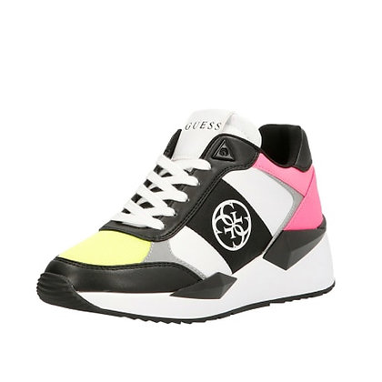 Guess Black & Neon Trainers