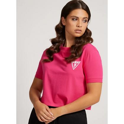 Guess Pink Crop T.Shirt