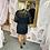 Thumbnail: PINKO Black Tweed Dress