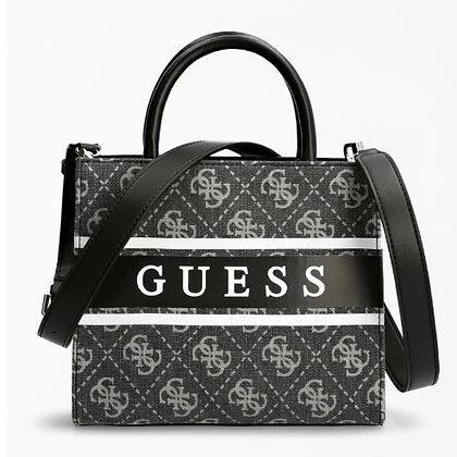 Guess Black/ Coal  Denim Mini Handbag