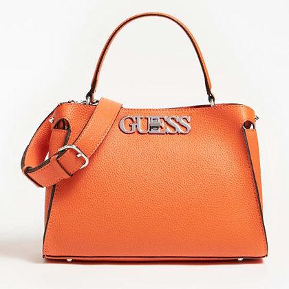 Guess Orange Uptown Chic Bag
