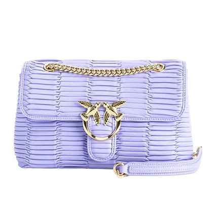 PINKO Lilac Mini Love Bag Puff Oragami