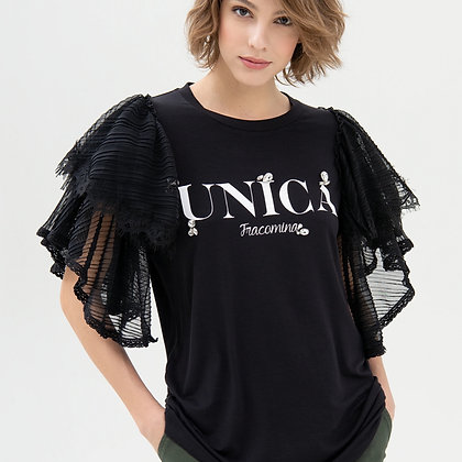 LB UNICA Jewel Frill Tee