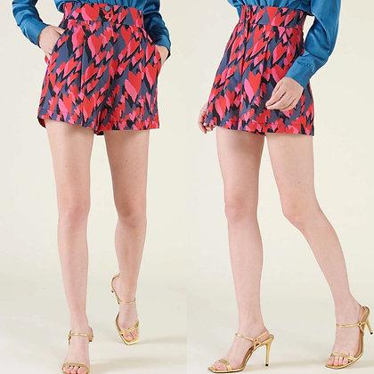 LB Heart Print Shorts
