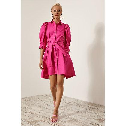 LB Pink Shirt Dress