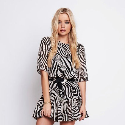 ARRI Zebra Print Dress