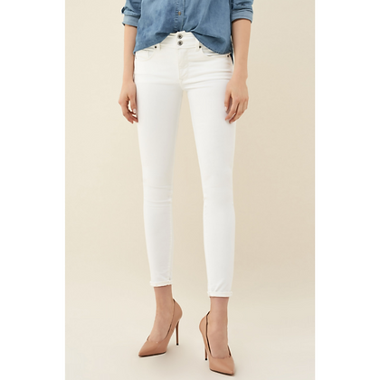 Salsa Push In Secret Skinny Stain-proof White Jean