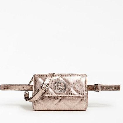 GUESS Bronze 4G Logo Belt Bag