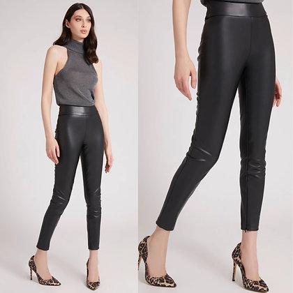 Guess Black Faux Leather Leggings