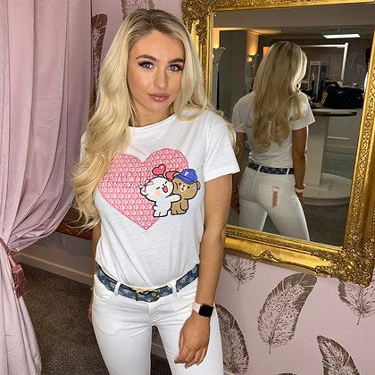 White Love Bears T-Shirt