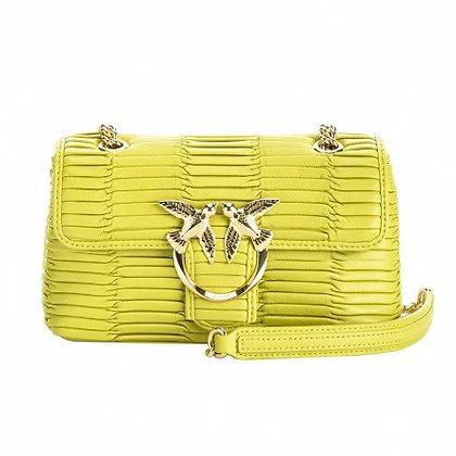 PINKO Lime Mini Love Bag Puff Oragami
