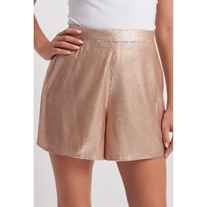 FU Nude Sequin Shorts