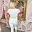 Thumbnail: LEO White, KISS ME Embellished T.Shirt