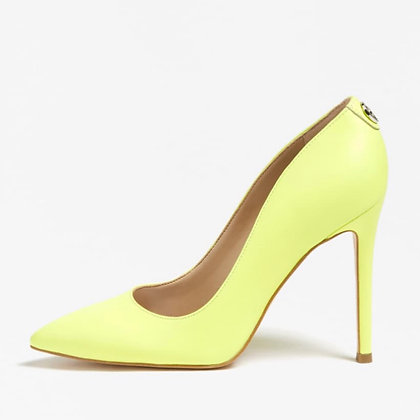Guess Neon Yellow Court