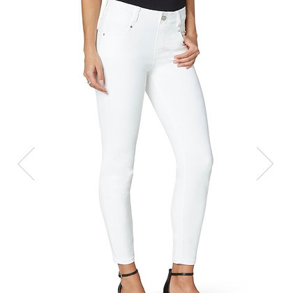 Liverpool Jeans GIA Skinny White Ankle Jean