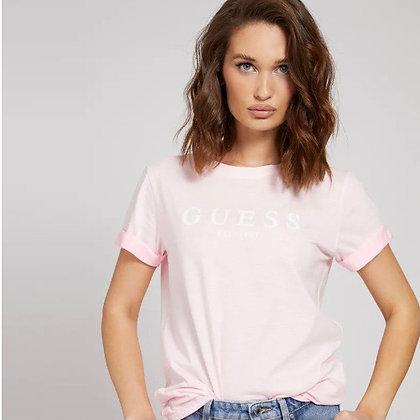 Guess Pink Logo T-shirt