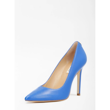 GUESS Blue Leather Court Shoe