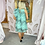 Thumbnail: LB Mint Animal Print Dress