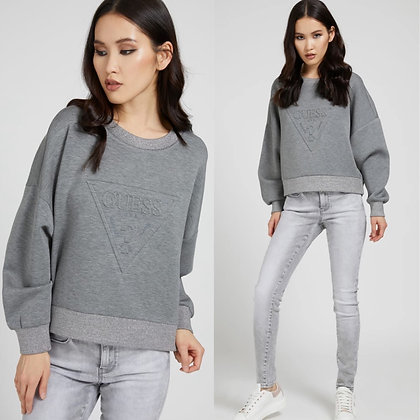 Guess Grey/Silver Triangle Sweater