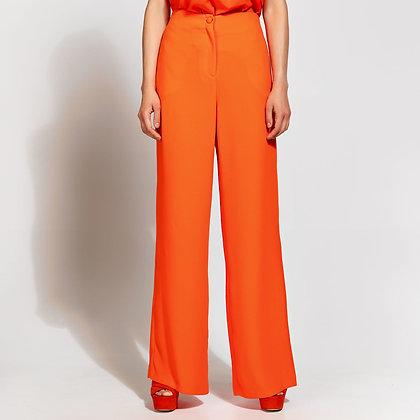 LB Orange Wide Leg Trousers