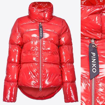 PINKO Red Padded Jacket